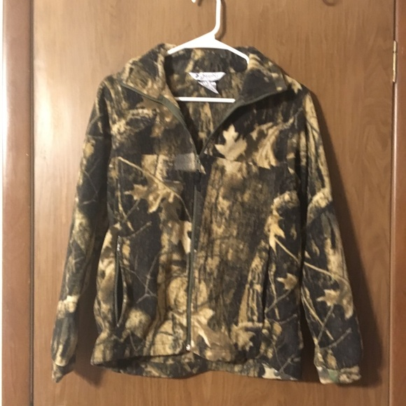 Jackets & Blazers - Camo Columbia Jacket (kids)